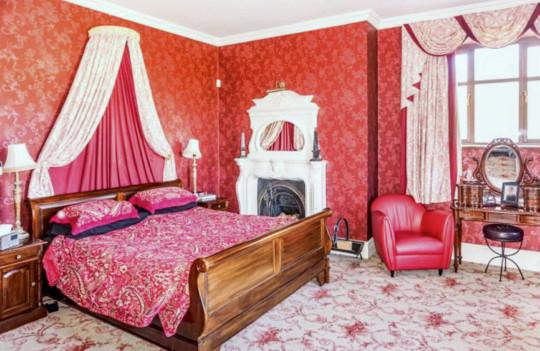 bedroom in durham house