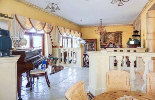 interiors of renovated durham house