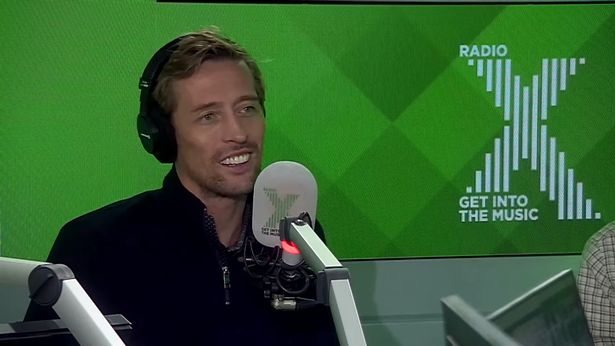 Peter Crouch relives the moment he first met Abbey Clancy