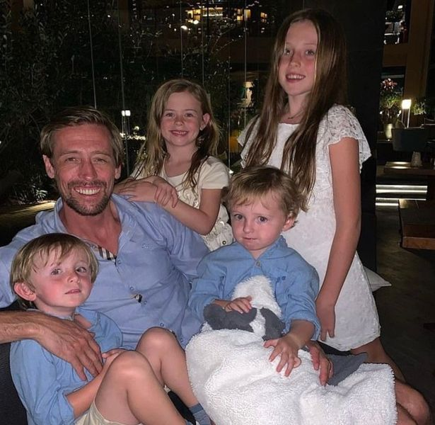 Peter and Abbey with their children