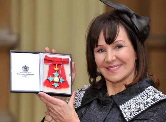 Arlene Phillips with CBE