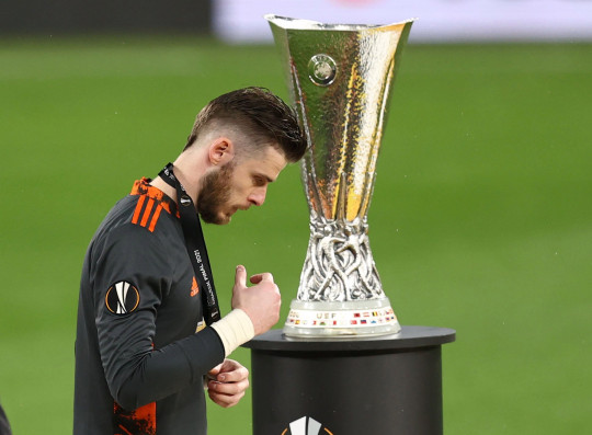 David De Gea missed out on winning the Europa League with Manchester United this season