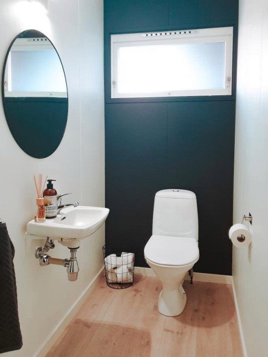 The toilet after the renovation