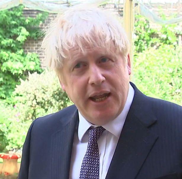 Boris Johnson on Sky