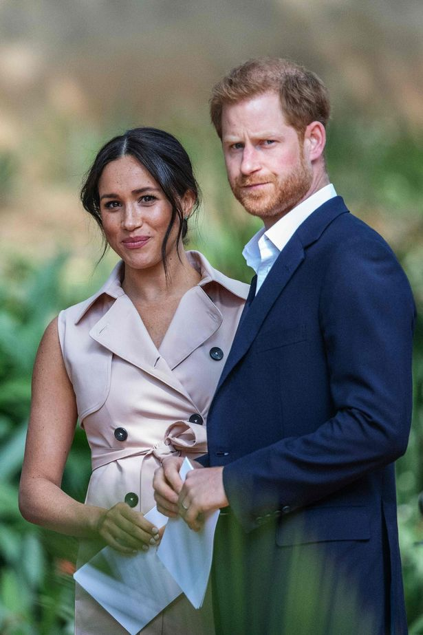 Prince Harry and Meghan Markle, the Duke and Duchess of Sussex