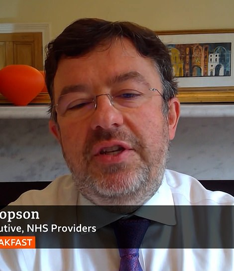 Chris Hopson, chief executive at NHS Providers which represents hospital trusts across England, slammed modelling by SAGE advisers of surges in Covid hospitalisations throughout the pandemic. He said these were crude and unreliable.