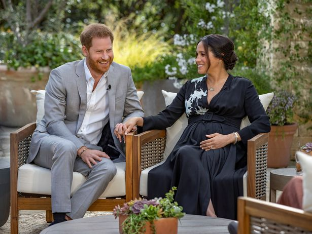 Harry and Meghan gave an interview with Oprah Winfrey earlier this year