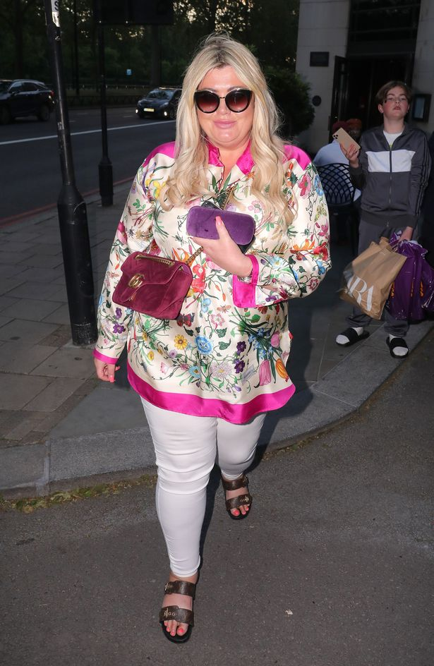 Gemma Collins in London