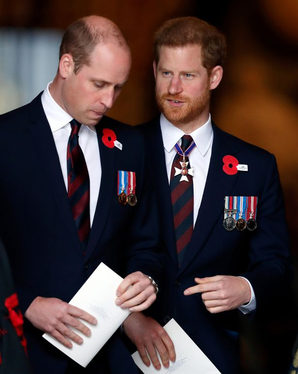 William and Harry are not on the best of terms, it has been claimed
