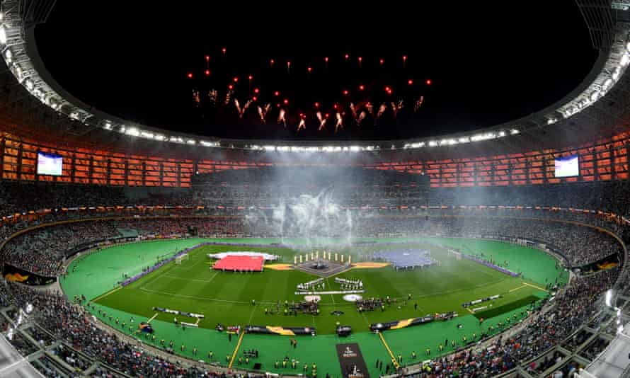 The 2019 Europa League final between Chelsea and Arsenal.
