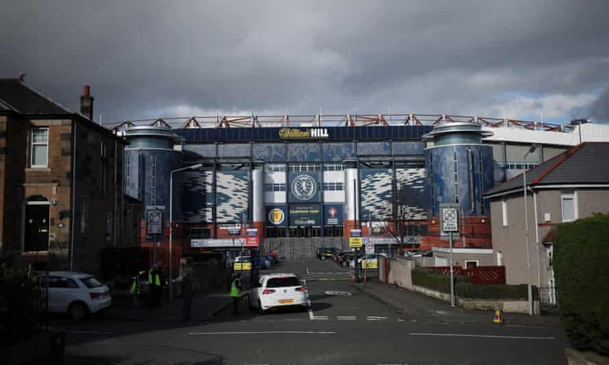 Hampden Park, the home stadium of Scottish football