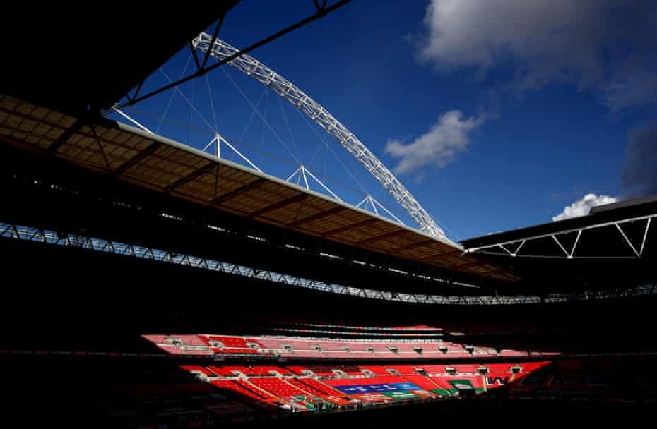 Light and shadow at Wembley