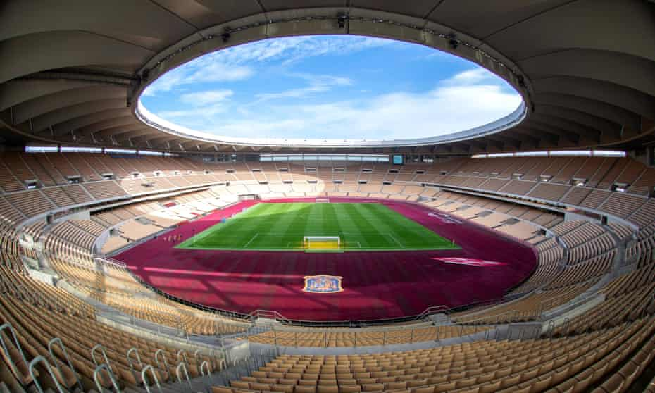 Estadio La Cartuja in Seville.