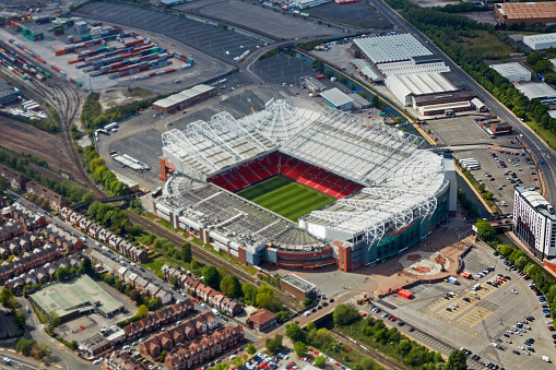 'Old Trafford', iconic home of Manchester United