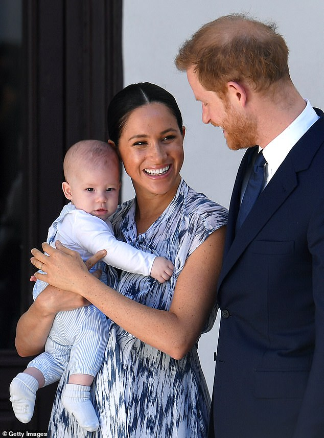 Parents: The Sussexes are already parents to son Archie (pictured inSeptember 2019)