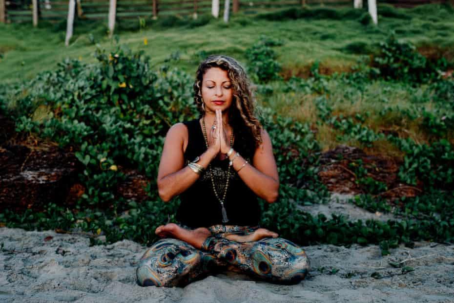 Mays Al-Ali, yoga teacher.