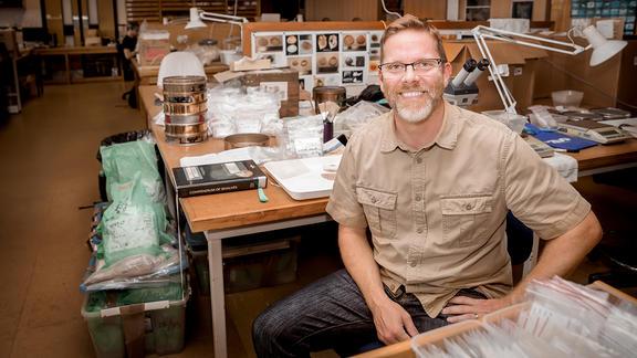 Archaeologist Associate Professor Ethan Cochrane