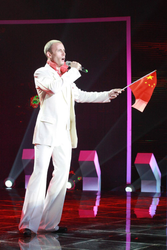 Iain shot to fame when he auditioned for China's Got Talent, becoming a novelty act as a westerner singing traditional Chinese songs. (Han Changming/PA Real Life)