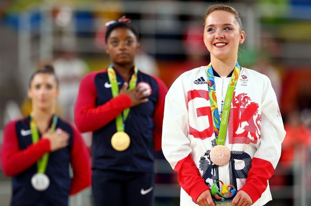 """Amy Tinkler: """"Imagine being told you haven't made a team and knowing its because you have stood up for what's right. Mind blowing"""""""