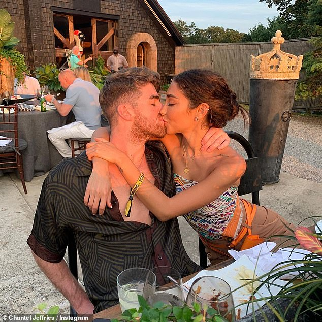 Former: Her Miami trip comes just two months after it was revealed she split with beau Drew Taggart; The twosome confirmed their romance in July on social media