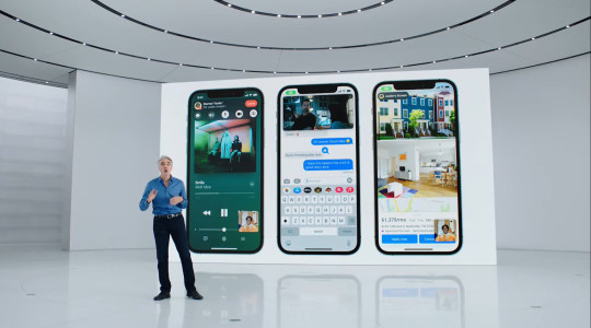 WWDC also included a look at the new iOS 15 operating system for iPhones (Apple)