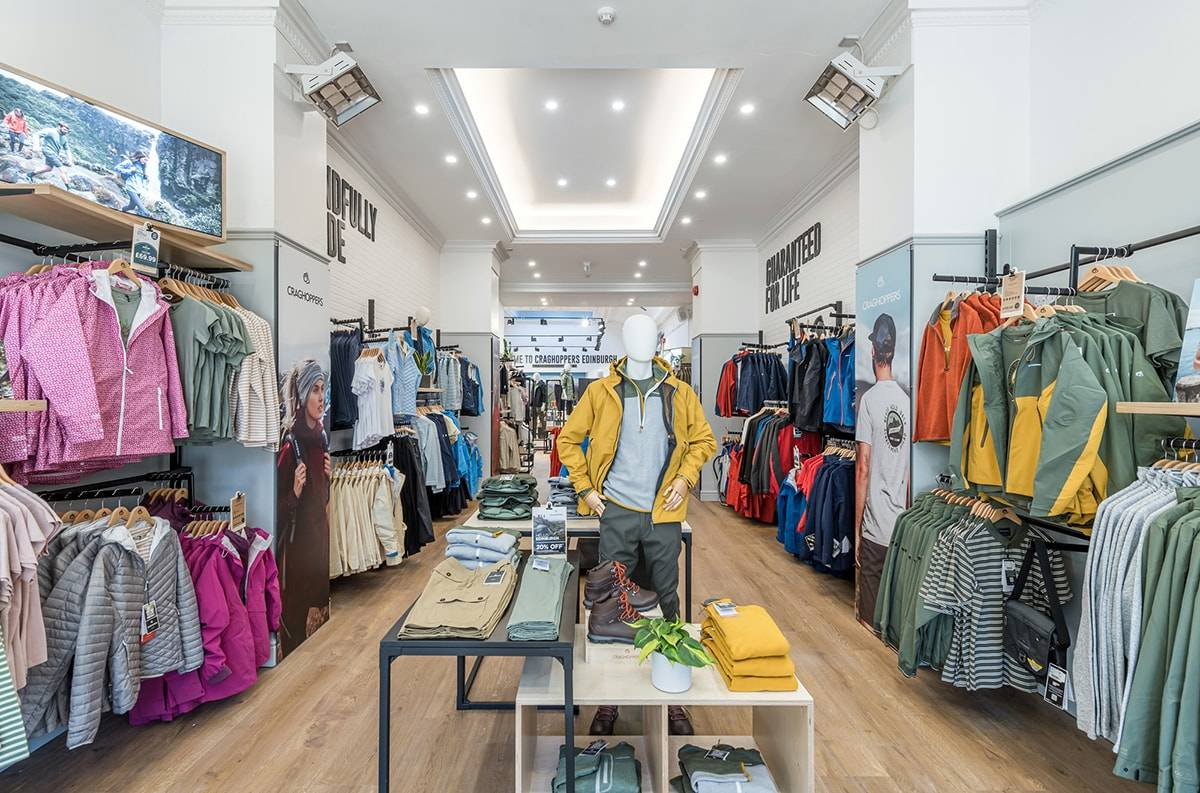 Outdoor brand Craghoppers opens first flagship store in Edinburgh