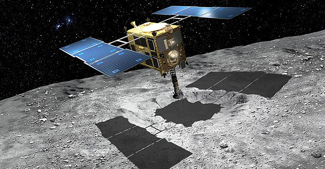 Hayabusa2 first visited Ryugu in June 2018; from there, it took measurements and samples of the asteroid, before leaving for Earth in November 2019