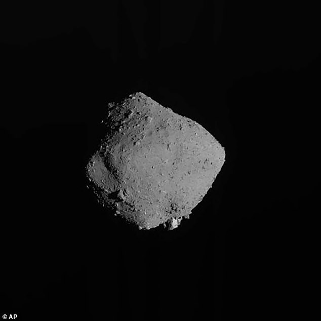 Though it's more than 190 million miles from Earth, Ryugu is considered a 'potentially hazardous' near-Earth object