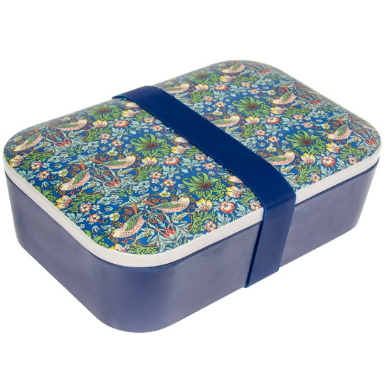 Back in the office? Keep up the healthy home-made lunches with this stylish and eco-friendly William Morris lunchbox ? made from sustainable and dishwasher-safe bamboo. Dating back to 1883, The Strawberry Thief was one of Morris? most popular textile designs. William Morris Strawberry Thief Bamboo Lunchbox, ?5.99
