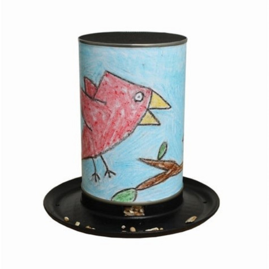 This fun kit provides all the components kids need to design and make their own unique bird feeders from old tin cans. Encourages children to reconnect with the environment and engage with feeding the wildlife in your outdoor space. Made from recycled car tires and plant pots and a great way to reuse old tin cans. Make Your Own Birdfeeder, ?7.99