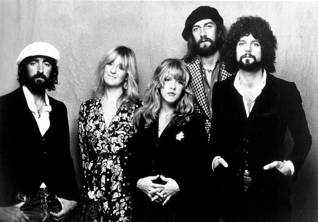 Music icons: Lindsey was a member of the legendary rock band Fleetwood Mac