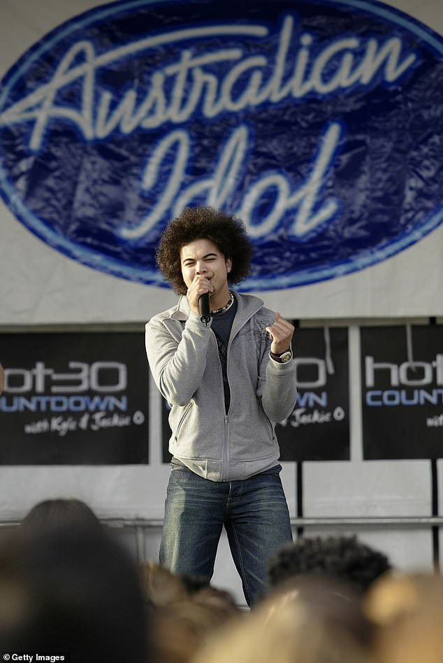 Launching careers: The talent show is famous for discovering a string of top-selling artists, including Guy Sebastian, Jessica Mauboy, Casey Donovan, Matt Corby and Ricki-Lee Coulter. Pictured: season one winnerGuy Sebastian performing inSydney onNovember 13, 2003