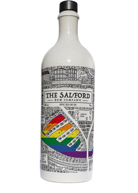 Pride Collector's Edition Spiced Rum by The Salford Rum Company