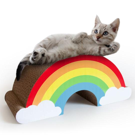 Cat Scratching Rainbow