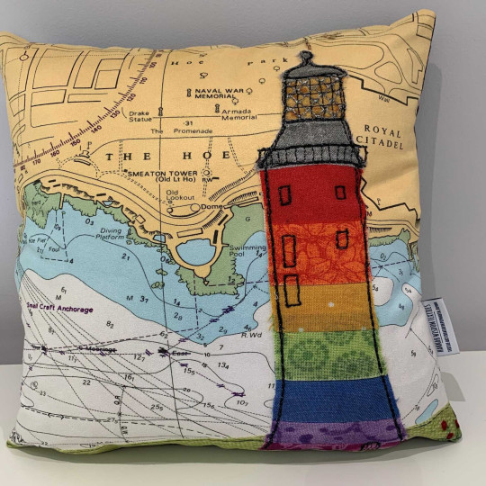 Pride Of Plymouth cushion – the West Country collection