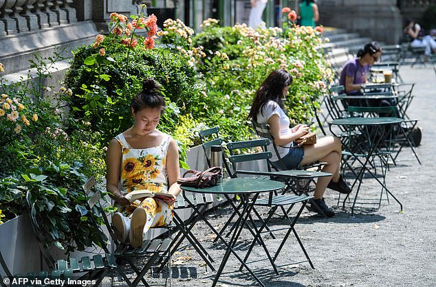 People are getting more comfortable going out in public, to restaurants and stores