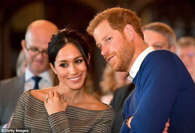 'It just doesn't fit': Mollard said the Queen likely feels 'disheartened' by the way Harry and Meghan have spoken about her in the media, and that using the name Lilibet is in poor taste