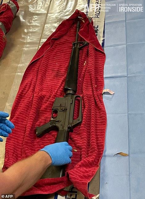 An M16 assault rifle