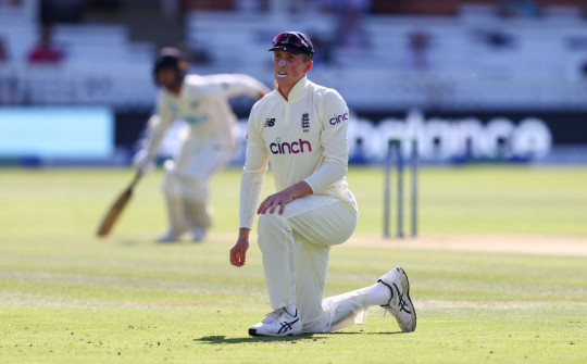 Robinson has hailed Kent teammate and England batsman Zak Crawley