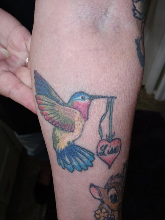Debi tattoo