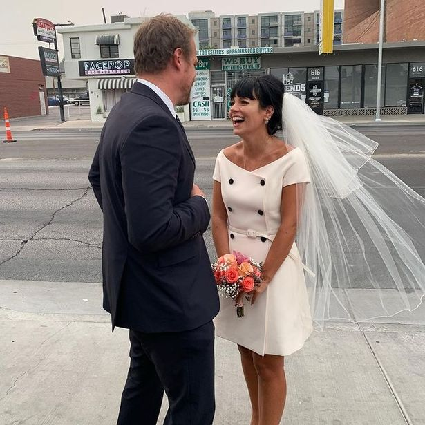 Lily married Stranger Things actor David Harbour last year