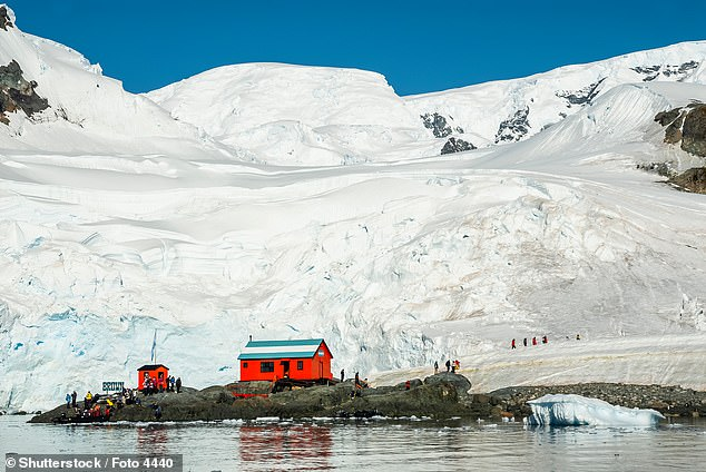 'The Southern Ocean has long been recognized by scientists,' explained National Geographic Society geographer Alex Tait. 'But because there was never agreement internationally, we never officially recognized it. It's sort of geographic nerdiness in some ways,' he added. Pictured:Scientific Base Argentina, which lies inParadise Bay, on the Antarctic Peninsula. Until this week, it would have lain on the coast of the Pacific in National Geographic maps