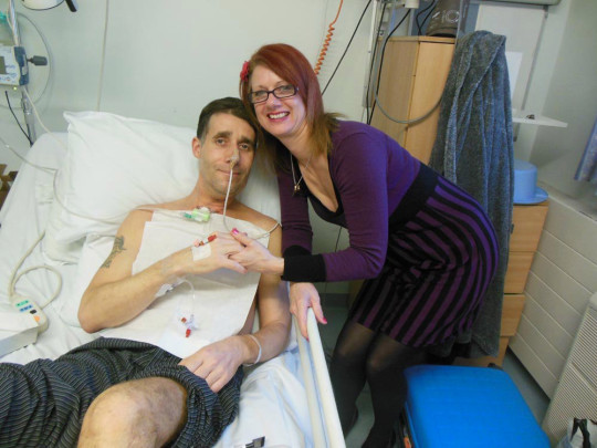 Mick's first surgery in February 2014. PA REAL LIFE/COLLECT
