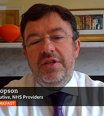 Chris Hopson said hospitals could 'cope' with rising cases