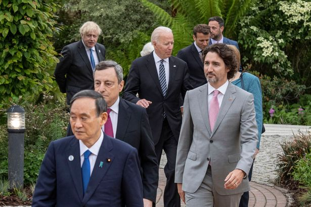 G7 leaders held talks about Covid and more at the summit of world powers