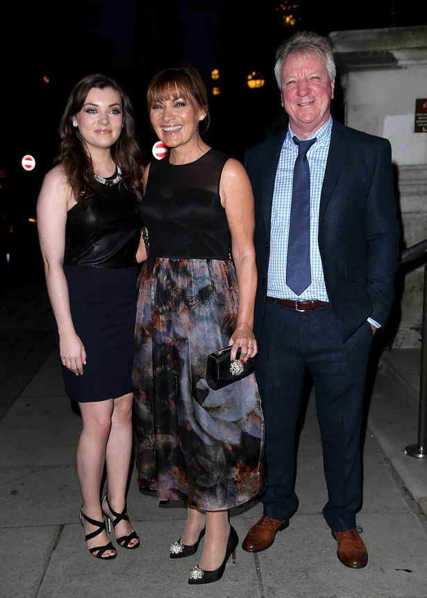 Lorraine and her husband Steve Smith with Rosie