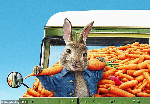 Family fun: Also new to theaters this weekend, Sony's animated family film Peter Rabbit 2: The Runaway arrived in third place with a middling $10.4 million from 3,346 venues through Sunday