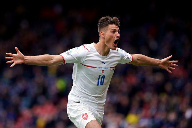 Patrik Schick scored both goals as Czech Republic won 2-0 at Hampden Park in Euro 2020