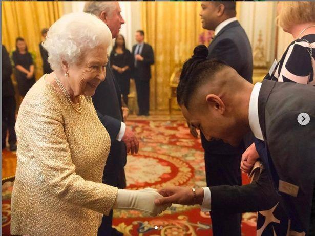 Bolkiah met the queen due his family's royal links
