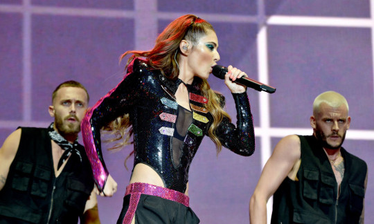 Cheryl performs at Manchester Pride 2019